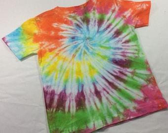 Tie dye t-shirt 2T