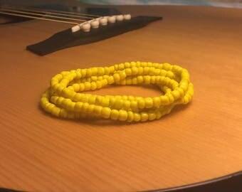 Yellow Stack Bracelet