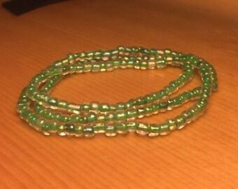 Green Stack Bracelet