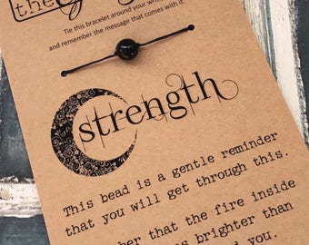 The Giving Bead STRENGTH Bracelet