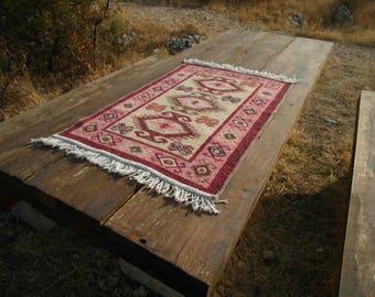 Bosnian hand woven rug