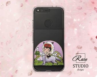 Studio Ghibli art Miyazaki Anime case Kawaii phone case Anime prints Pixel 2 case cute Pixel cases clear Cute phone cases Pixel 2 xl case