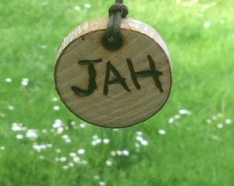 Chain, JAH, wood
