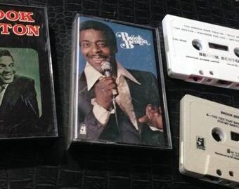 BROOK BENTON (2) audio cassette tapes: So Close + self titled