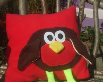 Funky Robin Cushion