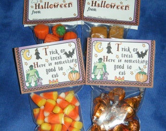 Halloween Candy Bag Topper