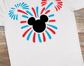 Mickey Fireworks