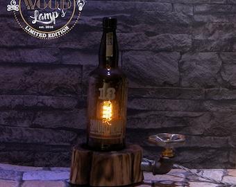 "Standing lamp ""Extra Black"" handmade"