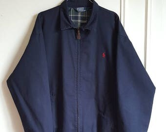 Jacket / jacket 100% cotton Polo Ralph Lauren Vintage early 90-00 size M like new.
