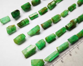 72 Carats Amazing Natural Unwashed Emerald Crystals  From Panjsheer Afghanistan