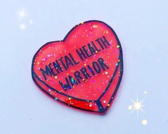 Mental Health Awareness pin