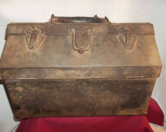 kennedy cantilever tool box. vintage kennedy kits machinist cantilever tool box chest all metal industrial toolbox--rare! e