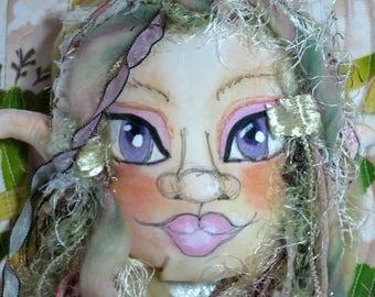 Fantasy Elf Fairy Door Knob Hanger