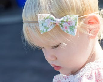 Mini Hair Bows - Nylon Headband - Hair Accessories - Baby Headband - Girls Hair Clip - Baby Girl Hair Bow - Baby Mini Hair Bow