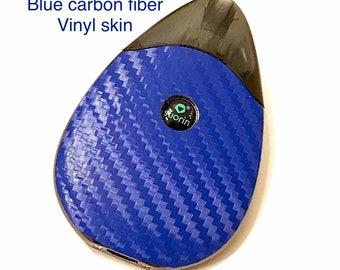 Suorin Drop Vape Skin Blue textured Carbon Fiber Skin