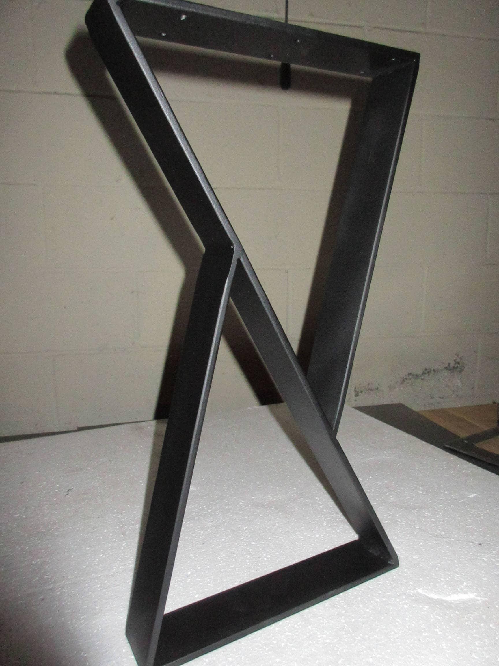 Coffee Table Metal Legs Modern Design Custom Sizes Coffee