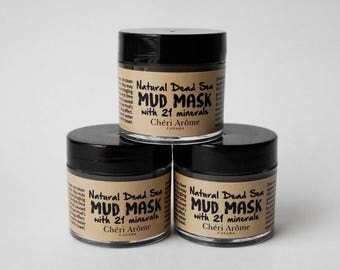 Dead sea mud mask face mask facial treatment for oil skin for acne skin
