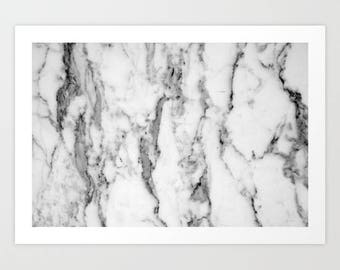 Gray And White Wall Art marble wall art | etsy