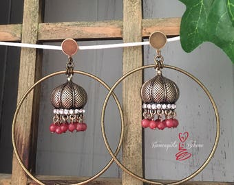 Lamps earrings.