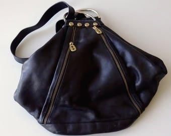 Italian Leather MARINO ORLANDI Backpack Style Purse Bag