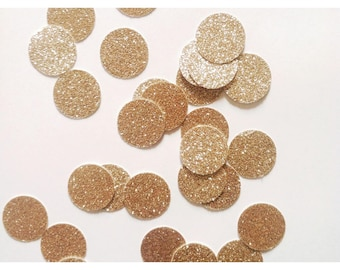 Gold Confetti, Paper Confetti, Gold Birthday, Gold First Birthday