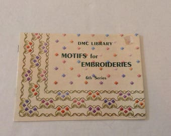 DMC Library / Motifs for Embroideries 6th Series