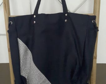 Midnight Blue large Avallon tote bag