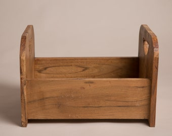 Rustic wooden bed photography prop - Photography prop bed - wooden photography prop - newborn prop - sitter prop