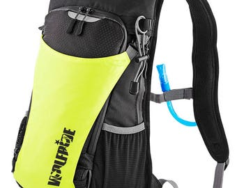 Hydration rucksack with 1.5 litre bladder included - mountian bike, hiking, cycling, reflective, high vis