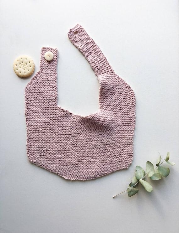 Bib, handmade baby bib, bibs, birth gift, baby knit, baby shower gift, handmade baby gift, baby bandana bib, baby bib