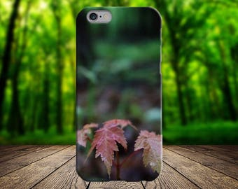 Red Leaf Phone Case