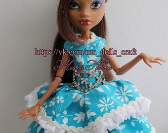 Сlothes/Outfit for Monster High: dress + socks + shoes