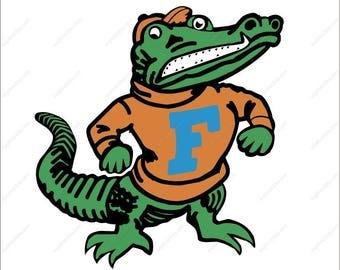 Florida Gators svg Gators svg football svg party svg Dxf Eps Png Ai for Cricut & Silhouette Digital File design Print Mug Shirt Decal