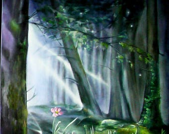 Forest Fairyt,  oil, canvas