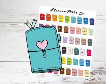 Travelers Notebook Planner Stickers // Mini Stickers