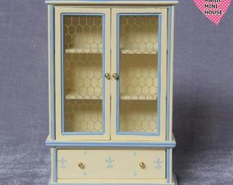 Dolls House Miniature Country Style bookcase