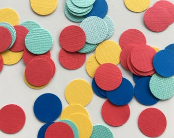 Circle Confetti - Circus - Carnival - Carnival Party Supplies - Circus Party Supplies - Scatters - Confetti - Party