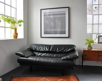 Ledersofa design  Sofas & Zweisitzer - Vintage | Etsy DE