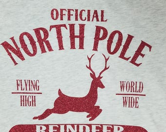 Reindeer Flight/Christmas/North Pole Christmas t-shirt