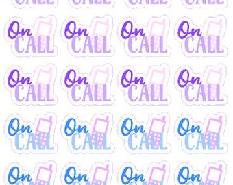 On Call // Diary // Planner // Stickers