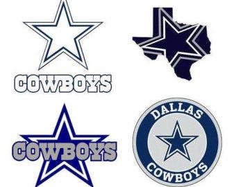 Dallas Cowboys Decal/RTIC YETI  Car Decal, Computer Decal, Window Decal, Cell Phone