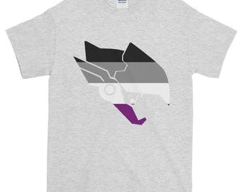 Pharah Ace Pride Unisex Short-Sleeve T-Shirt, Overwatch, lgbt, lgbtq, lgbtqipa, queer, queer pride, transgender, asexual