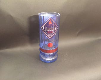 1 Liter HANDCRAFTED Up-Cycled 1 Liter vs 750ML Citadelle Gin BOTTLE Soy Candle. Made To Order !!!!!