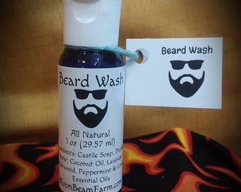 Beard Wash - All Natural, Beard Shampoo