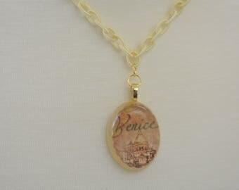 Venice Resin Necklace