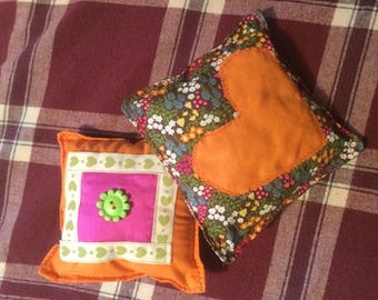 Quirky pin cushions