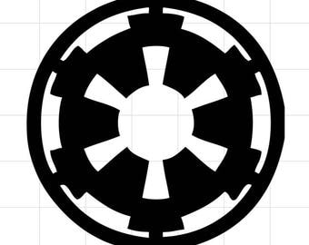 Imperial Insignia car decal