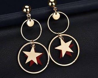 Hoops Earring In 14k Gold Filled /Large Gold Hoop Earrings