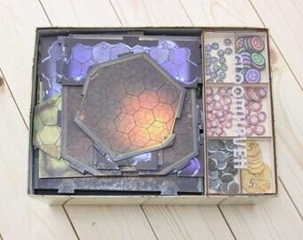 Gloomhaven  board game insert, organizer, storage solution