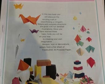 9 Paper Folding. Made easy by Florence Temko.   Bemiss- Jason corp.      Origami